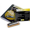 Harmonica Richter C.A. Seydel Söhne Soundcheck V. 1 Steel - Blues Beginner Pack