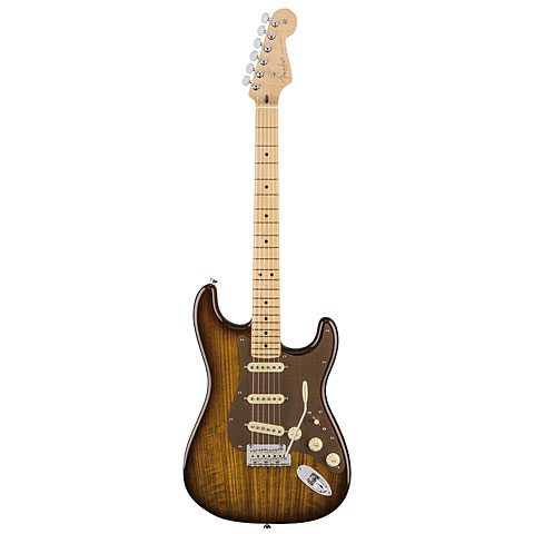 Fender FSR Exotic Collection Shedua Top Stratocaster
