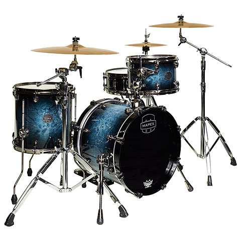 Mapex Saturn V MH Exotic Serie 18  Deep Water Maple Burl