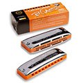 Harmonica Richter C.A. Seydel Söhne Blues Session Steel Ab