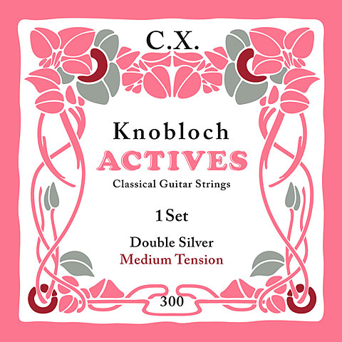 Knobloch Strings Double Silver Carbon 300KAC MT