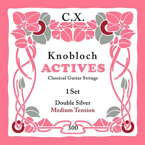 Knobloch Strings Double Silver Carbon 300KAC MT