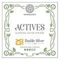 Nylonsträngar Knobloch Strings Double Silver Carbon 450KAC MHT