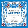 Struny do gitary klasycznej Knobloch Strings Double Silver Carbon 400KAC HT
