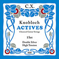 Knobloch Strings Double Silver Carbon 400KAC HT  «  Corde guitare classique