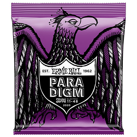 Cuerdas guitarra eléctr. Ernie Ball Paradigm Power Slinky 2020 .011-048