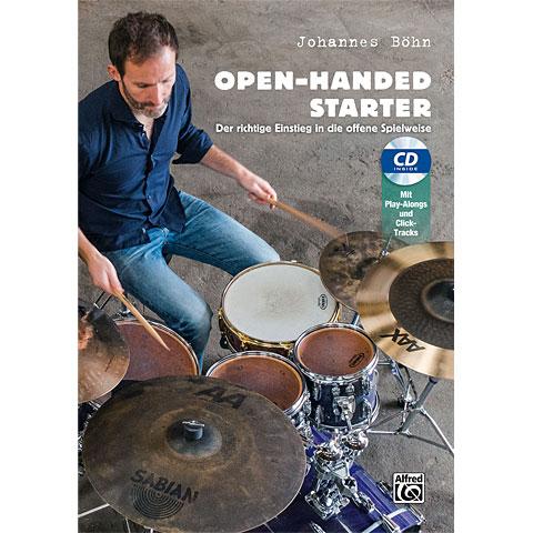 Alfred KDM Open-Hand Starter (+CD) :  für Schlagzeug