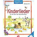 Lehrbuch Holzschuh Kinderlieder: für 1-2 Sopranblockflöten