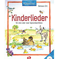 Libro di testo Holzschuh Kinderlieder: für 1-2 Sopranblockflöten