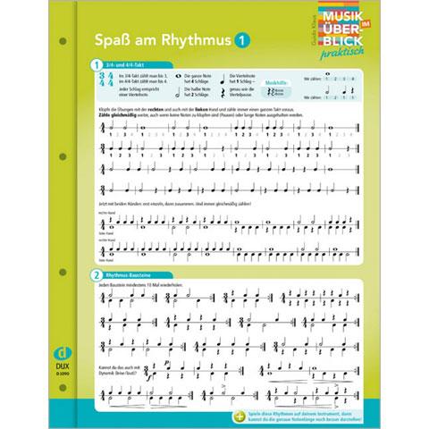 Teoria musical Dux Spaß am Rhythmus 1 Musik im Überblick