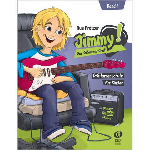 Lehrbuch Dux Jimmy! Der Gitarren-Chef Band 1