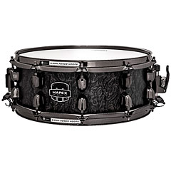 "Mapex Saturn V MH Exotic 14"" x 5,5"" Flat Black Maple Bur « Caisse claire"