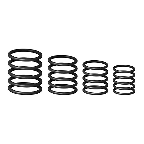 Gravity RP 5555 BLK 1 Ring Pack