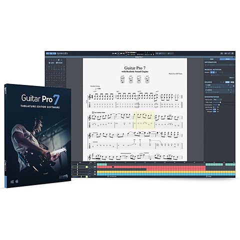 Notation Arobas Music Guitar Pro 7