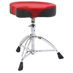 Mapex Red Saddel Drum Throne « Siège de batterie
