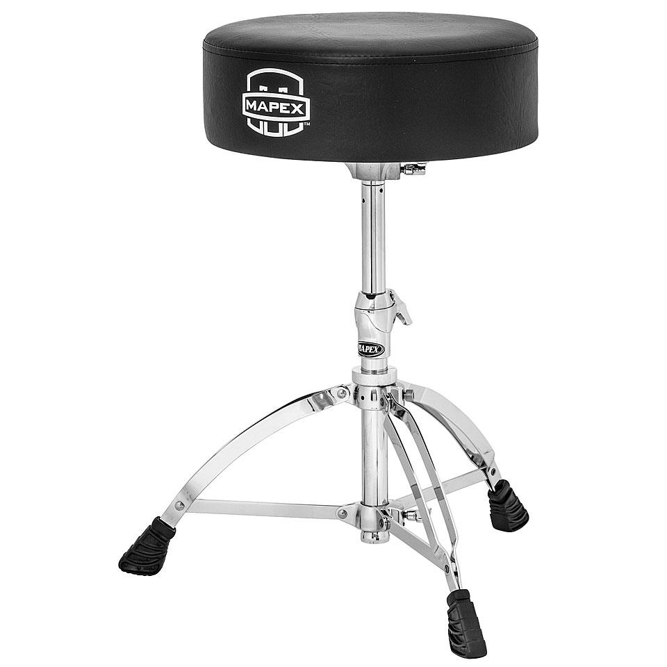 Drumhardware - Mapex Round Drum Throne Drumhocker - Onlineshop Musik Produktiv