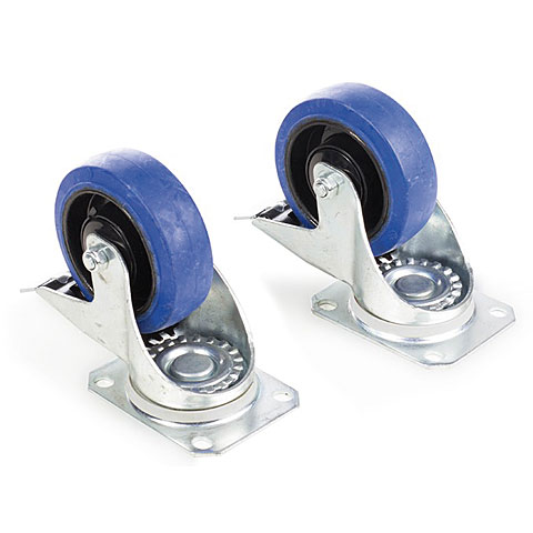 Admiral Set of 2x castor with brake 100 mm
