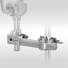 Mapex Chrome Horizontal Adjustable Multi Purpose Clamp « Percussion Holder