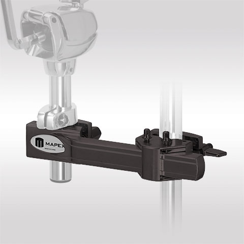 Sonstige Hardware Mapex Black Horizontal Adjustable Multi Purpose Clamp