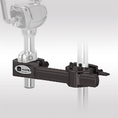 Mapex Black Horizontal Adjustable Multi Purpose Clamp « Percussion Holder