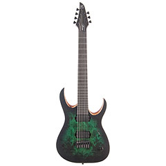 Mayones Duvell Elite 7 Dirty Green Burst  «  E-Gitarre