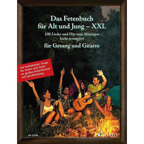 Songbook Schott Das Fetenbuch für Alt und Jung XXL