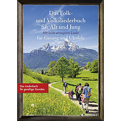 Schott Das Folk- und Volksliederbuch für Alt und Jung « Recueil de morceaux