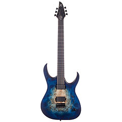 Mayones Duvell Elite 6 Natural Blue Burst Out « Chitarra elettrica