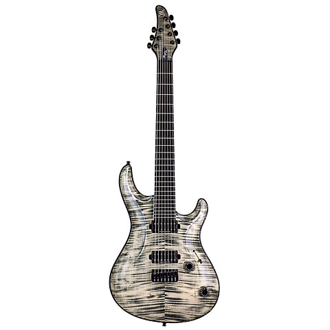 Mayones Regius Core 7 Jeans Black « Guitare électrique
