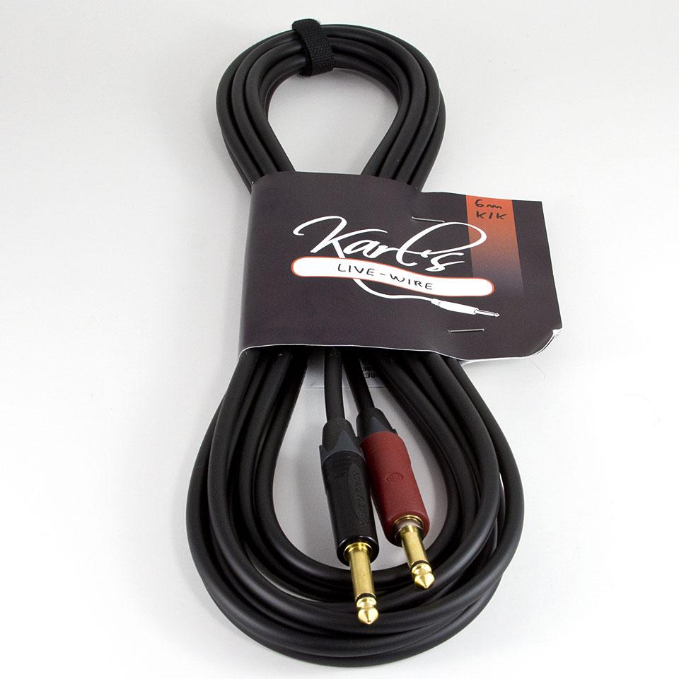 Karl\'s Live-Wire 6 m K/K Silent Plug « Instrumentenkabel