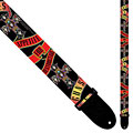 Guitar Strap Perri's Leathers Ltd Guns ´N Roses Banner