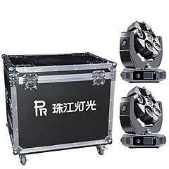 PR Lighting 2x Butterfly inkl. Case B-Stock « Moving Head