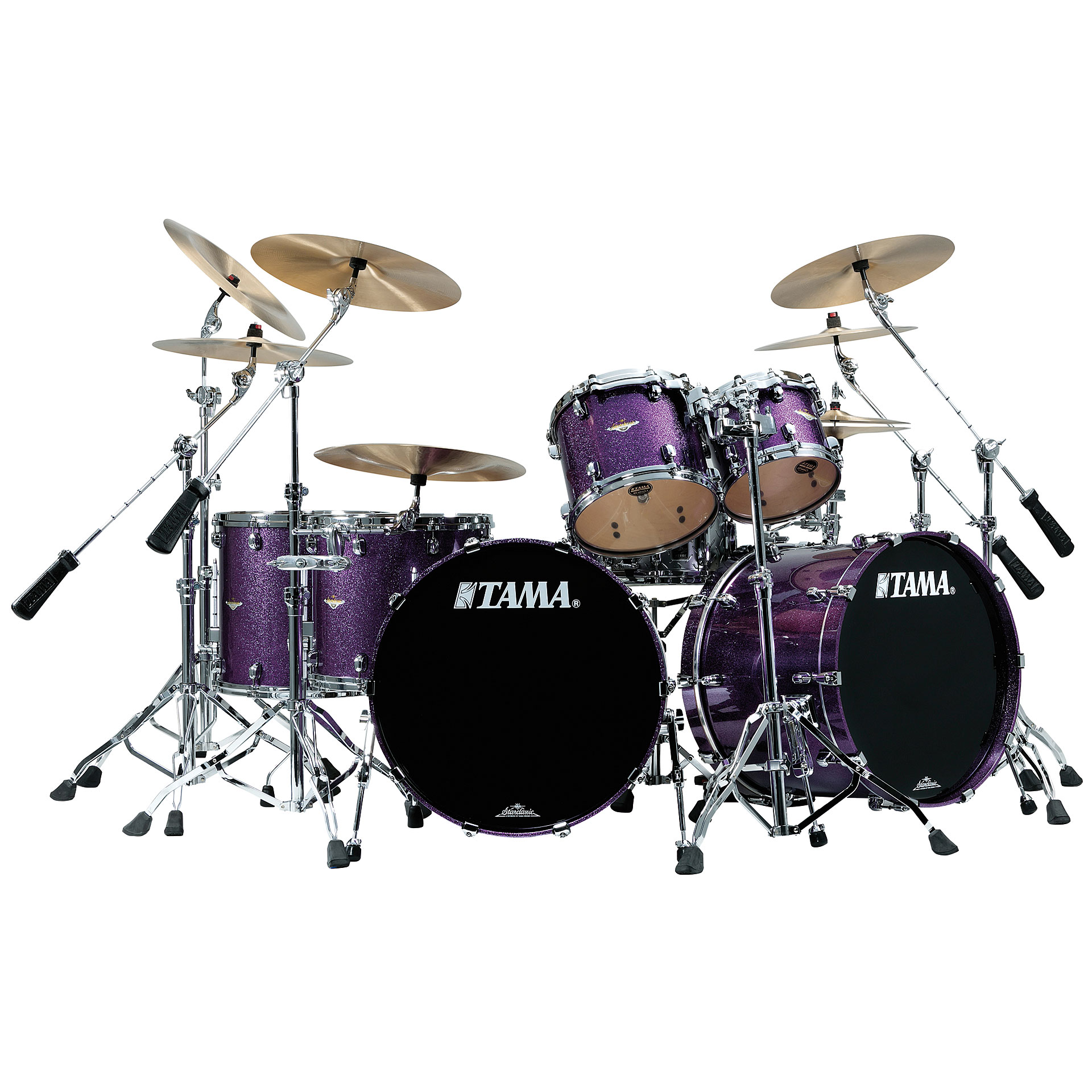 tama starclassic maple lars ulrich the worldwired drum kit. Black Bedroom Furniture Sets. Home Design Ideas