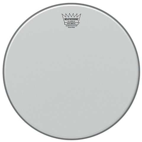 "Remo Ambassador Coated Classic Fit 14"" Tom Head"