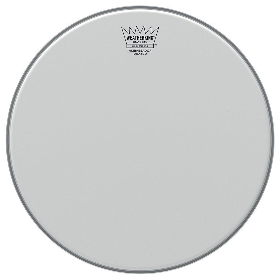 remo ambassador coated classic fit 16 tom head tom drumhead. Black Bedroom Furniture Sets. Home Design Ideas