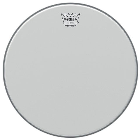 "Remo Ambassador Coated Classic Fit 18"" Tom Head"