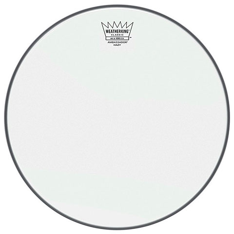 "Remo Ambassador Clear Classic Fit 16"" Tom Head"