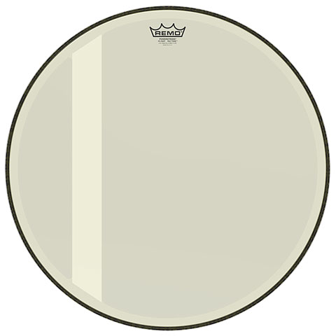 Remo Powerstroke 3 Felt Tone Hazy 22  Bass Drum Head