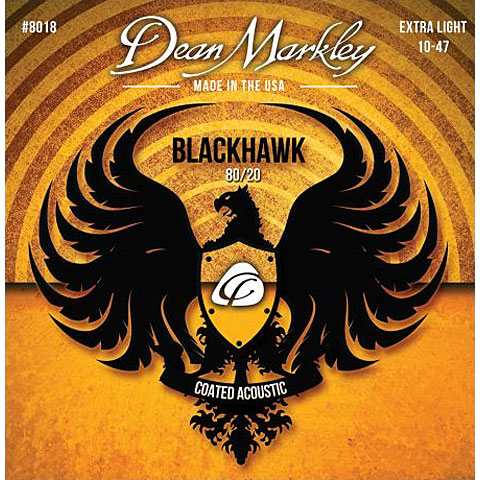 Dean Markley 8018 XL Blackhawk 010-047