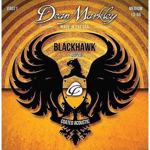 Dean Markley 8021 MED Blackhawk .013-056