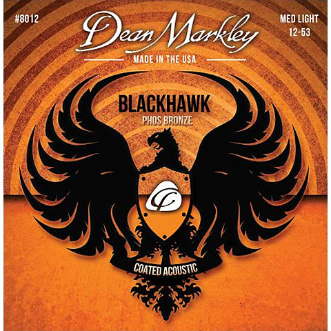 Dean Markley 8012 MEDLT Phos Bronze  Blackhawk 012-053