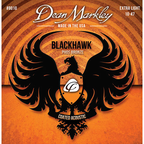Dean Markley 8010 XL Blackhawk Phos Bronze .010-047