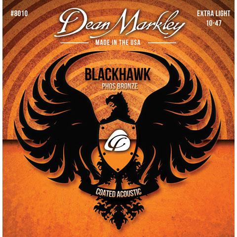 Dean Markley 8010 XL  Phos Bronze  Blackhawk 010-047 extra ligh