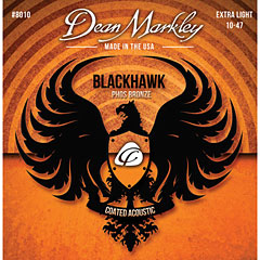 Dean Markley 8010 XL Blackhawk Phos Bronze .010-047 « Cuerdas guitarra acúst.