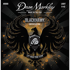 Dean Markley 8000 LT Blackhawk,009-042 Light « Cuerdas guitarra eléctr.