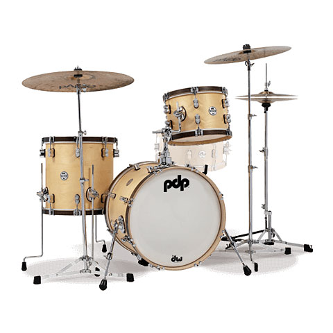 pdp Concept Classic 18  Wood Hoop Bop Kit Natural