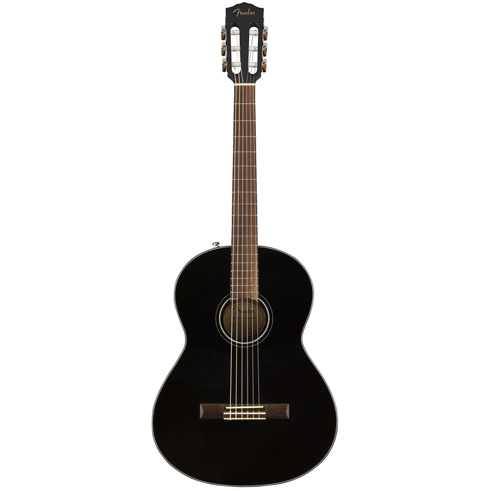 fender cn 60s blk guitare classique. Black Bedroom Furniture Sets. Home Design Ideas