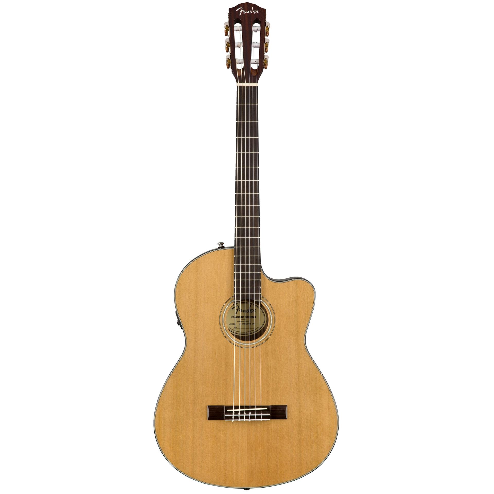 fender cn 140sce nat guitare classique. Black Bedroom Furniture Sets. Home Design Ideas