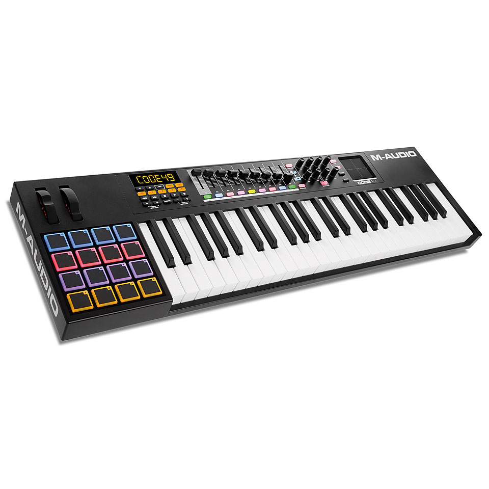 Midimasterkeyboards - M Audio Code 49 black Masterkeyboard - Onlineshop Musik Produktiv