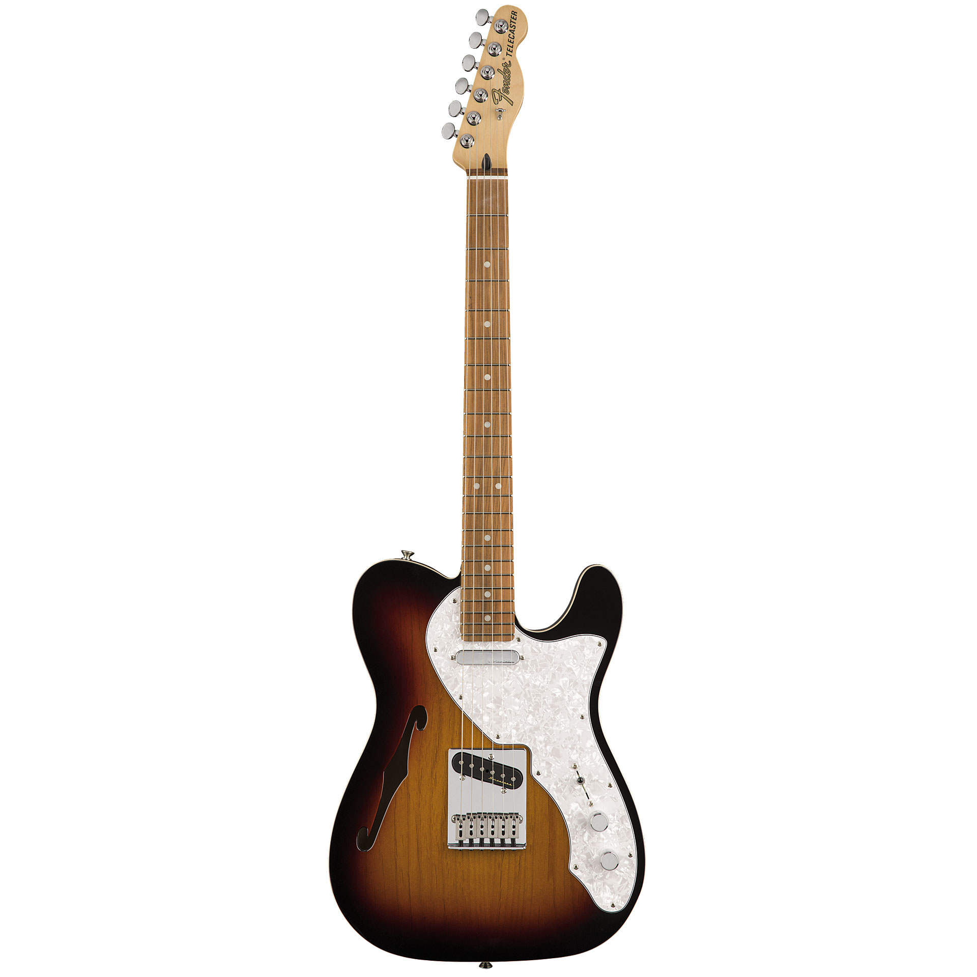 4638079d30818 Guitare électrique Fender Telecaster Thinline PF 3TSB ...